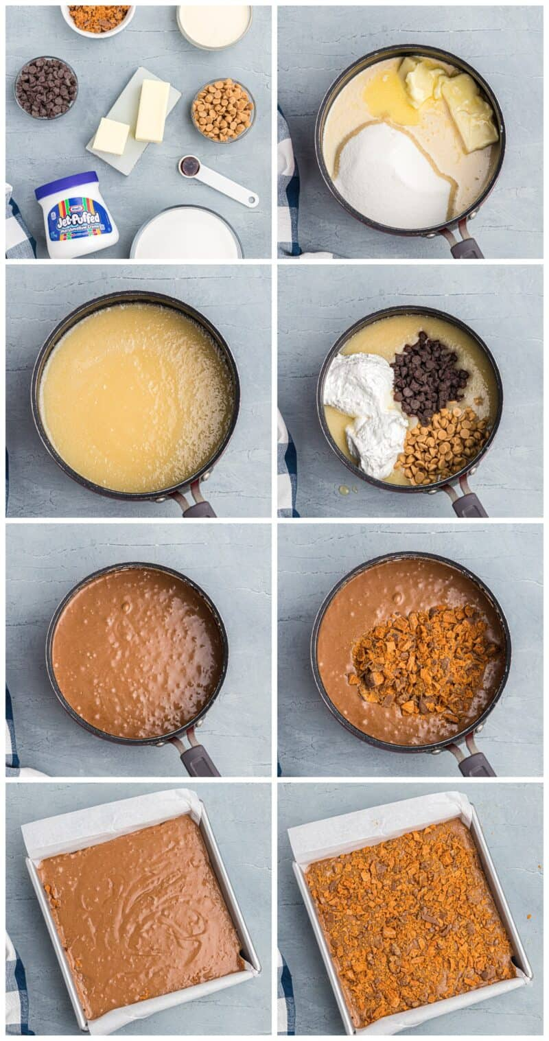 how to make butterfinger fudge
