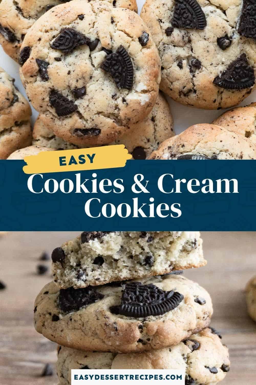 cookies and cream cookies pinterest