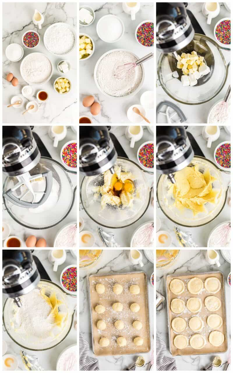 how to make sugar cookies step by step recipe photos
