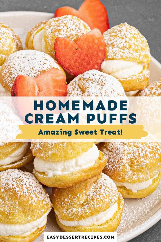 cream puffs pinterest collage