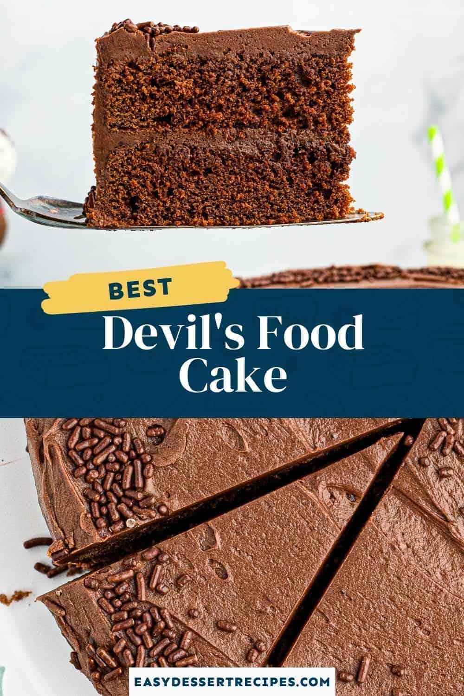 devils food cake pinterest