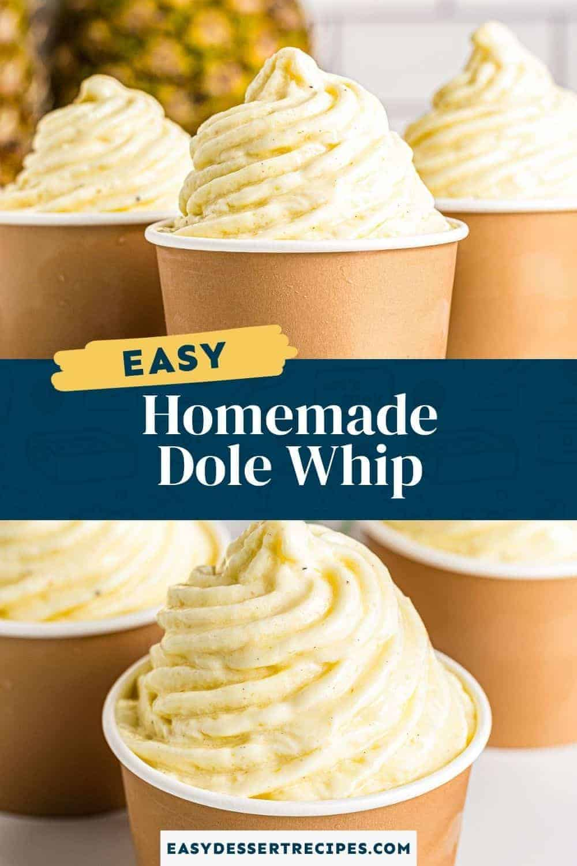 homemade dole whip pinterest