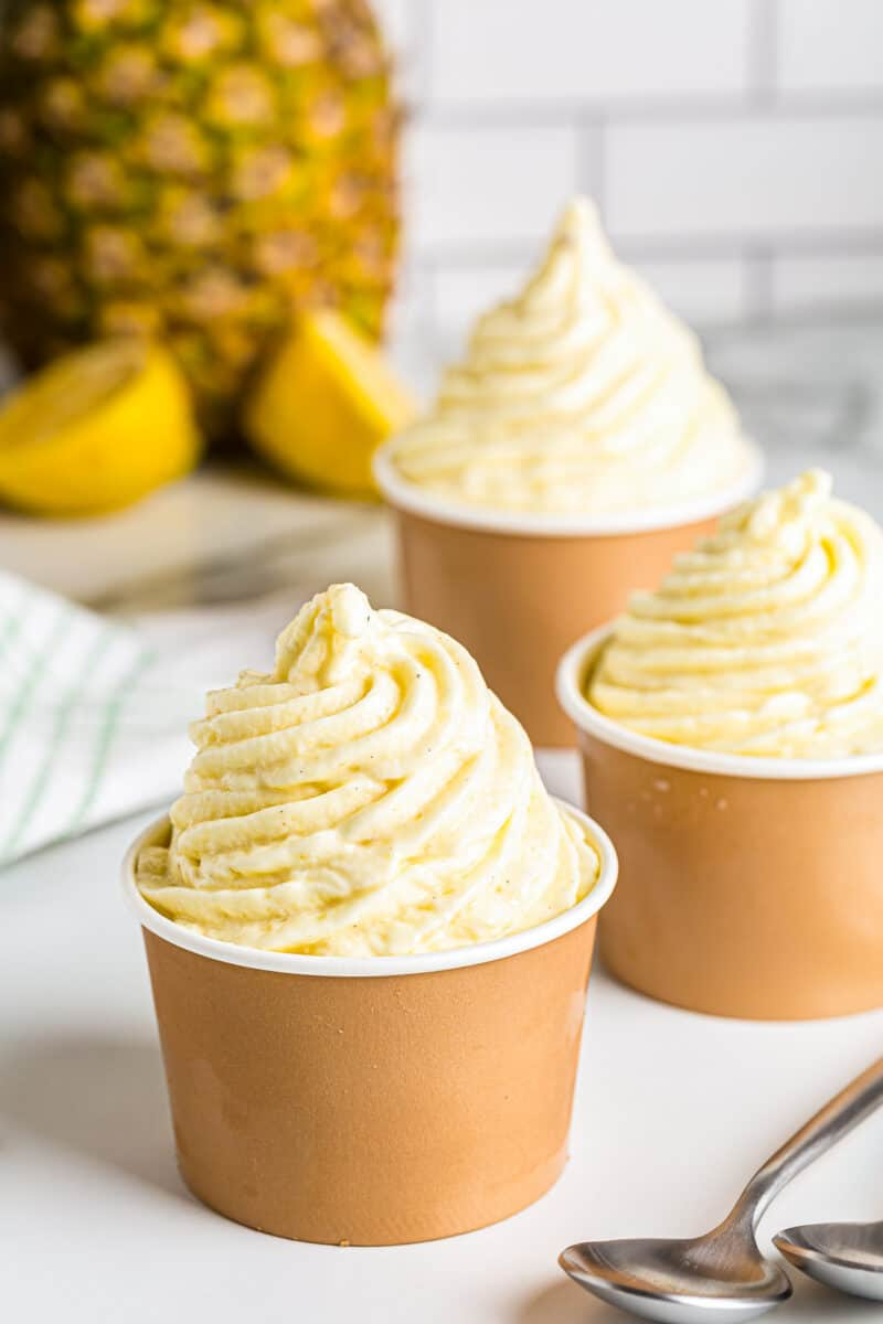 dole whip in cups