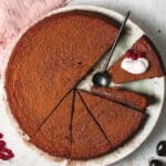 flourless chocolate cake featured image