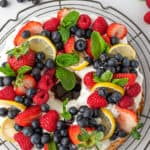 lemon angel food cake featured image