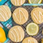 lemon cookies featured image