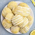 lemon poppy seed cookies featured image