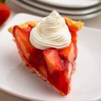 featured strawberry jello pie