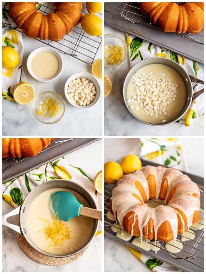 lemon bundt cake step by step recipe photos