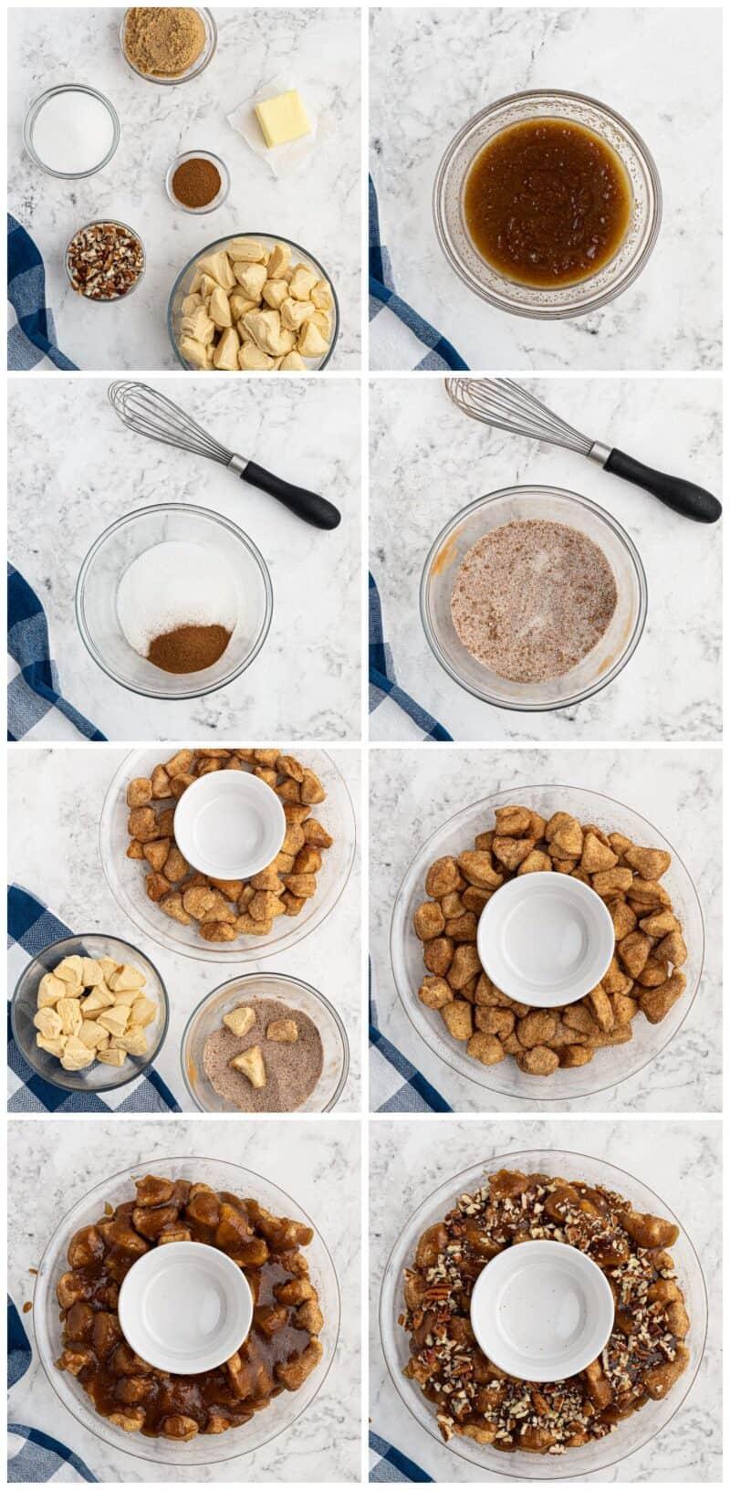microwave monkey bread step by step recipe photos