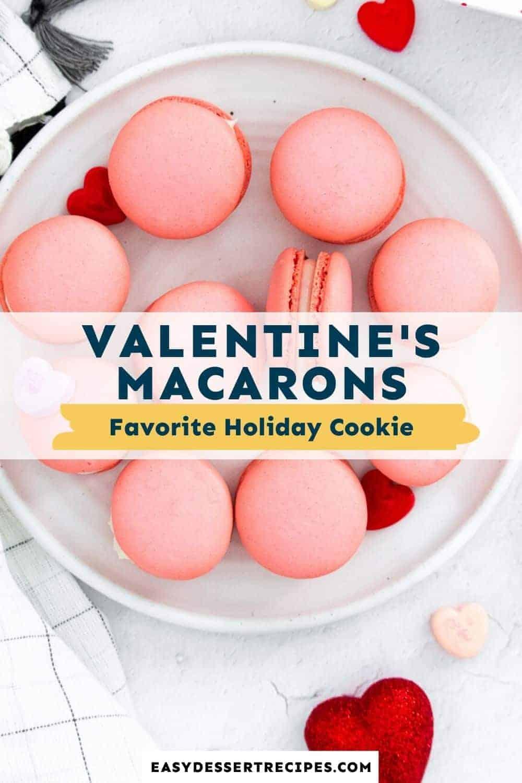 valentines macarons pinterest