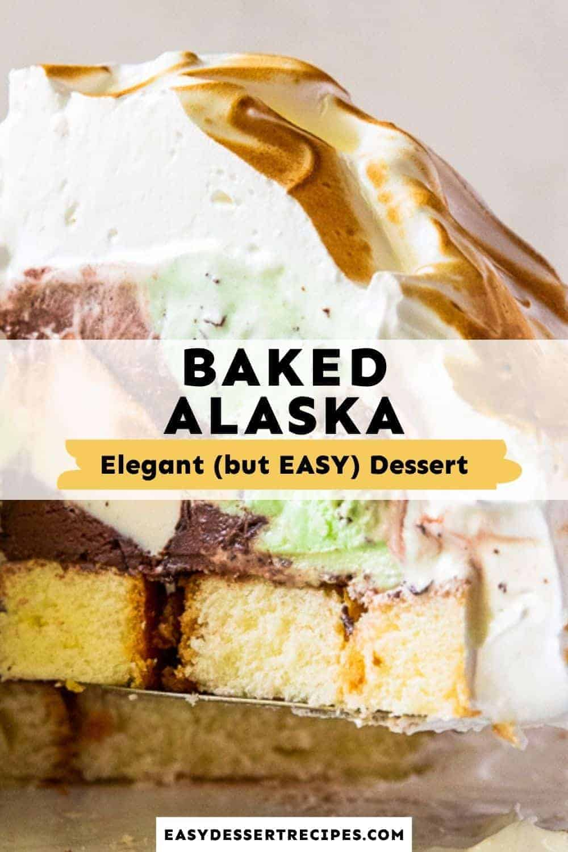 baked alaska pinterest collage