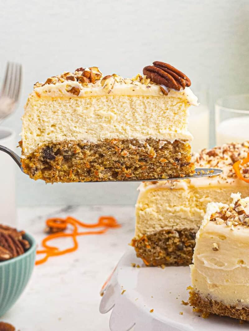 carrot cake cheesecake google poster image