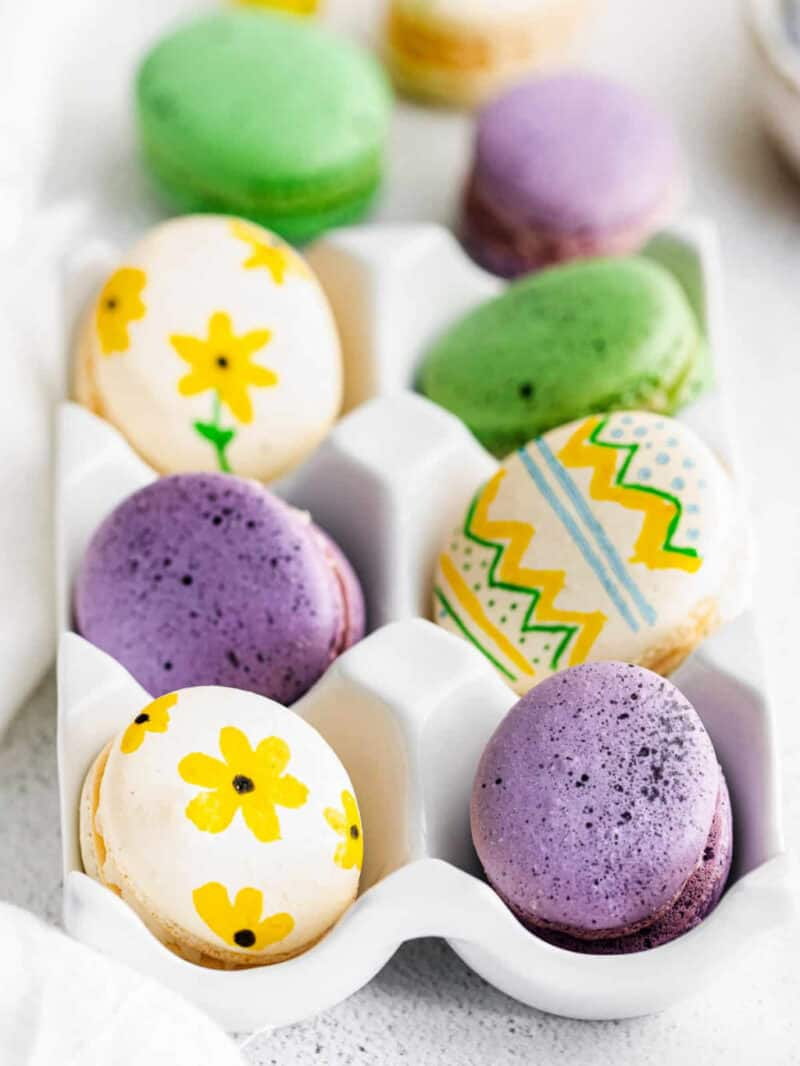 easter egg macarons google poster image