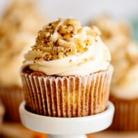 featured carrot cake cupcakes
