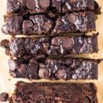 featured double chocolate zucchini bread