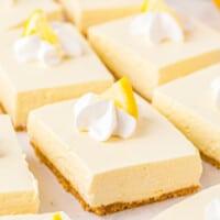 featured no bake lemon cheesecake