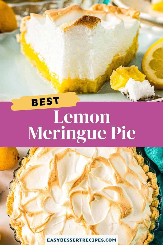 lemon meringue pie pinterest