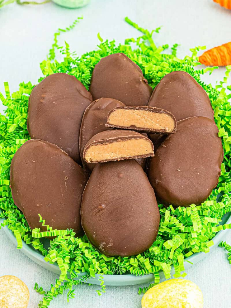 reese's peanut butter eggs google poster image