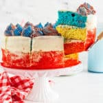 featured 4th of july cake