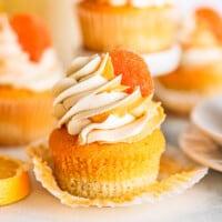 featured orange creamsicle cupcakes