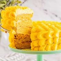 featured mango cake