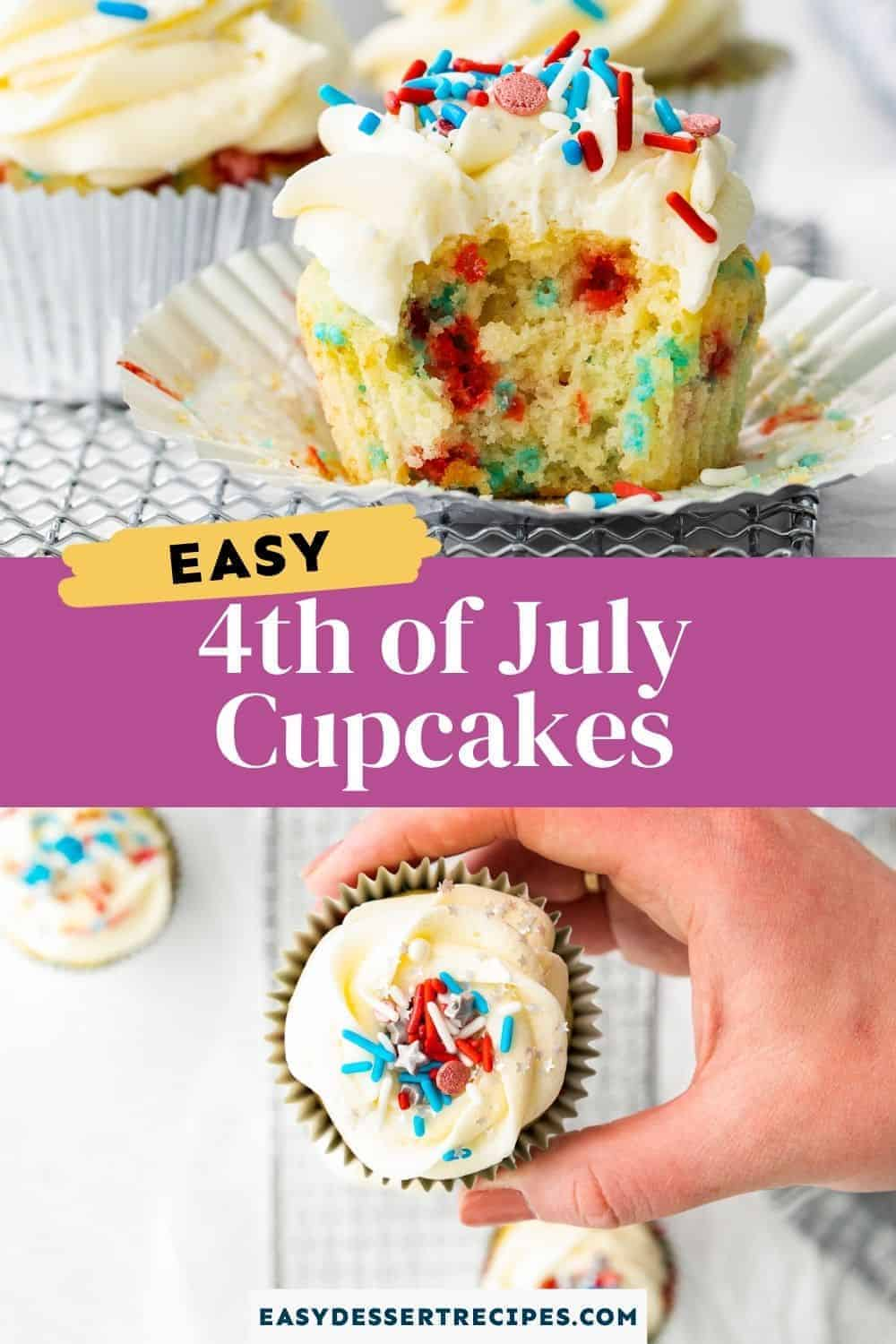 fourth of july cupcakes pinterest