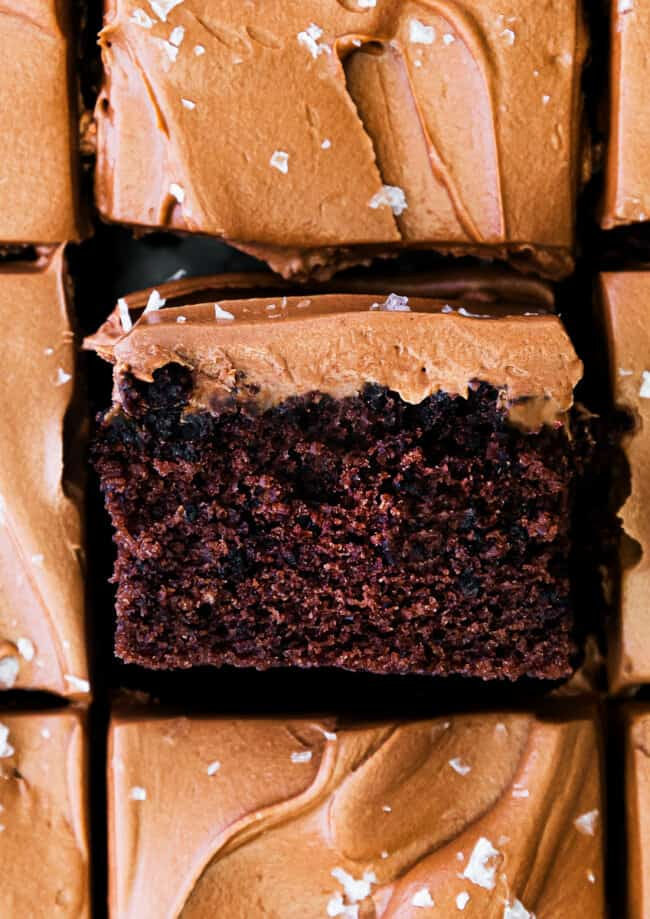 featured double chocolate cake