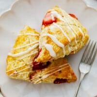 featured strawberry scones