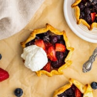 featured summer berry galette