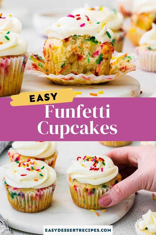 funfetti cupcakes pinterest