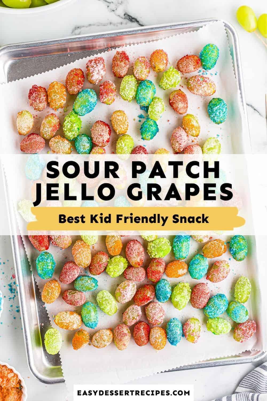 sour patch jello grapes (candy grapes) pinterest