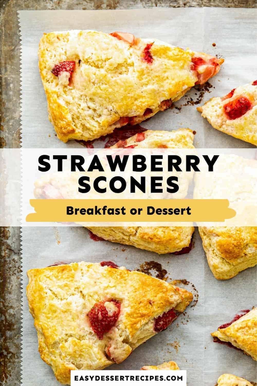 strawberry scones pinterest