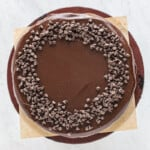 how to make chocolate chip cheesecake
