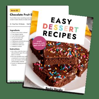 easy dessert recipes ebook transparent