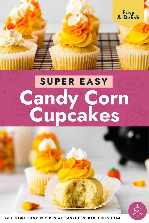 candy corn cupcakes pinterest
