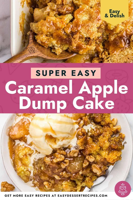 caramel apple dump cake pinterest