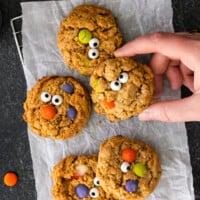featured halloween monster cookies