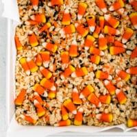 featured halloween rice krispie treats