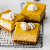 featured pumpkin cheesecake bars