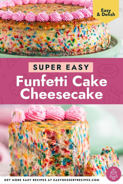 funfetti cheesecake pinterest
