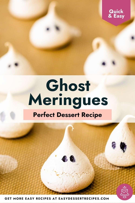 ghost meringues pinterest