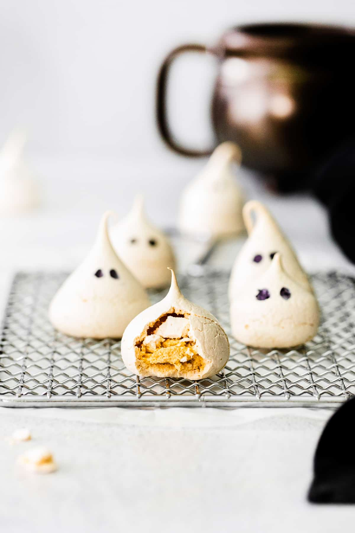 bite out of ghost meringue