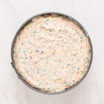 how to make funfetti cheesecake