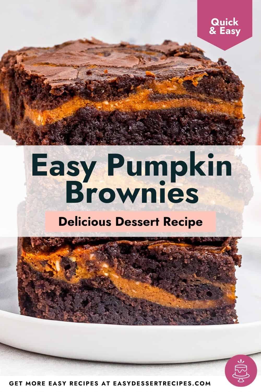 pumpkin brownies pinterest